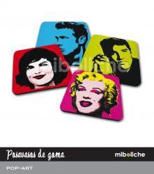 posavasos pop art